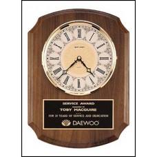 BC380 Walnut Wall Clock
